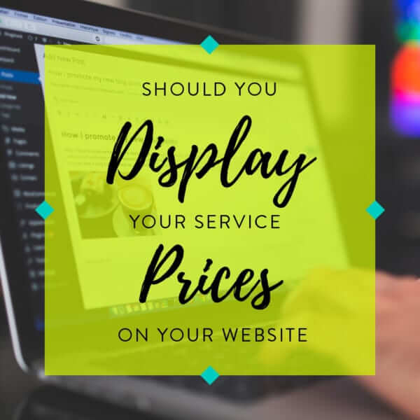 Should You Display Your Service Prices on Your Website image