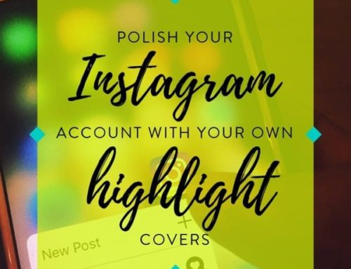 Are you ready to polish your Instagram account with your own highlight covers?